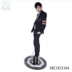 K-pop star A7 Support du socle de bureau d'affichage Acrylique Décor Standee