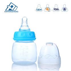 Bottiglia di alimentazione dei prodotti 60ml del bambino di prezzi di fabbrica 2oz bottiglia bevente di plastica del bambino di bottiglia