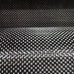 12K قطعة قماش كربونية من القماش العادي/المصنوع من ألياف الكربون 420