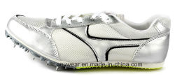При работающем двигателе с остроконечными зубьями обувь мужчин контакт спортивной обуви (406)