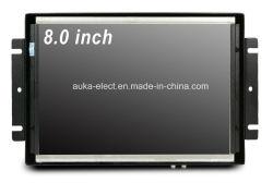 8'' TFT Industrial robusto Monitor con panel táctil de 4 hilos