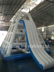 Китайский детские игры скалолазание башни слайды коммерческого уровня гигантские надувные водные горки для взрослых для продажи