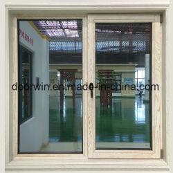 Rupture thermique en aluminium avec revêtement en bois Tour de la fenêtre d'inclinaison