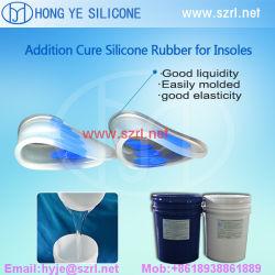 Tampon de semelles de décisions de gel de silice Platinum Cure Caoutchoucs de silicone