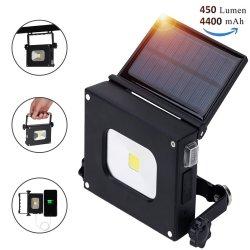 Camping lumière solaire Baladeuse rechargeable USB Lanterne de tentes pliantes