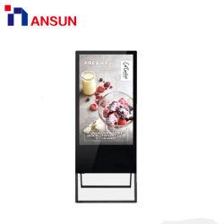 Super mince publicité multimédia avec écran tactile LCD numérique