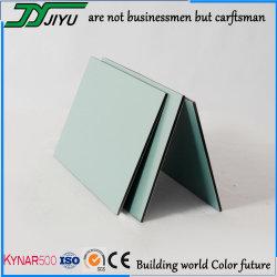 4mm PVDF zusammengesetzter Panel-Aluminiumgebrauch für im Freienwand-Umhüllung