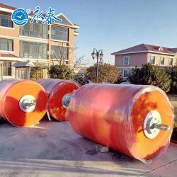 Guardabarros flotantes sólidos rellenos de espuma EVA de poliuretano de boyas marinas para el acoplamiento de barco