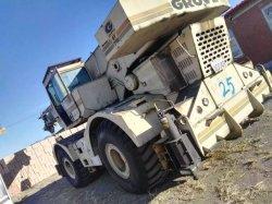 Gru utilizzata del boschetto 40ton, camion montato