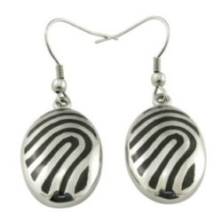 Usine dernière conception Filles 925 Sterling Silver Hoop Earrings