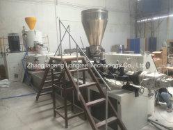 O PVC Orladora Alto Madeira brilhante borda de grãos coxim extrusor com um molde, quatro faixas para o PVC Orladora Coxim Extrusor