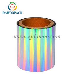 D38 Rainbow hologramme Film Pet vrai Seamless