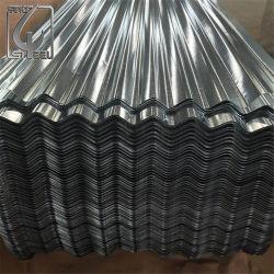 SGCC Z275 Gi Galvanizado Telhas de aço corrugado em chapa de ferro