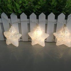 Van het LEIDENE van de Lantaarn van de ster de Batterij In werking gestelde Lichten Koord van de Fee