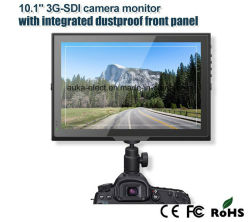 "10.1 "" Integrated Dustproof 정면 위원회를 가진 3G Sdi Camera Monitor"