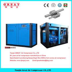 Migliore prezzo 2018! compressore d'aria gemellare rotativo industriale fisso muto elettrico della vite 7-13bar