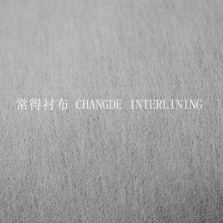 Мягкий Ближнем жесткий полиэстер вискоза нейлоновые плавкая перемычка не плавкая вставка химического приклеивания нетканого материала ткань