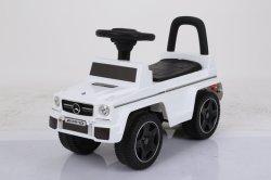Licenciado Mercedes-Benz Toddler Carro sem bateria branco