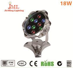 Verschiedener LED Effekt des LED-Unterwasserlicht-IP68 18W 24W 36W für Brunnen-Teich-Garten-ver?nderbares Unterwasserlicht