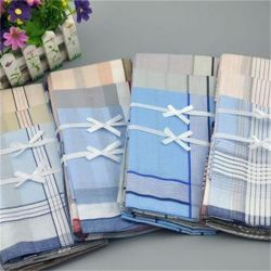 Großhandelshighquality 100%Cotton Mens Handkerchief