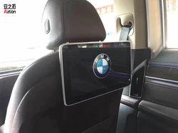 BMWの人間の特徴をもつHD Multimedio DVD車のヘッドレストのモニタのビデオプレーヤー