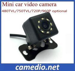 OEM-Мини-цифрового автомобиля видеокамера с 8 ПК ИК светодиод 480ТВЛ, 750 ТВЛ 720p 960p факультативного