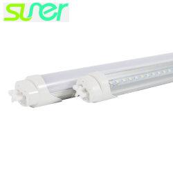 Флуоресцентная лампа с модифицированным алюминиевое основание светодиодные лампы T8 0,6 м 8W 5000K 100 lm/W