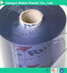 유연한 투명한 PVC 롤 포장과 테이블 피복을%s 최고 명확한 결정 PVC 필름 장