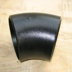 Bw un234wpb A420 Buttweld Wpl6 Raccord coudé en acier au carbone de 45 degrés