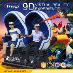 La réalité virtuelle électrique lunettes 3D VR 9D cinéma théâtre du simulateur