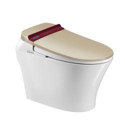 Горячая продажа стабильной Автоматическая Self-Cleaning из одного куска керамические Smart туалет