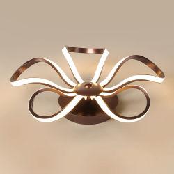 ホールLEDライトのための簡単な天井ランプのホテルの主題の現代デザイン花の空想の天井灯