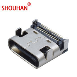 Conector USB tipo C 3.1 Toma USB hembra SMT
