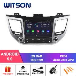 Четырехъядерные процессоры Witson Android 9.0 DVD GPS для Hyundai IX35/ Tucson 2015 ссылку наружного зеркала заднего вида для Android Mobile+iPhone