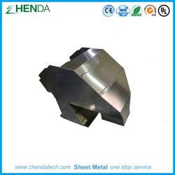 Lamiera sottile spazzolata acciaio su ordinazione di montaggio della casella di rivestimento di Stailess