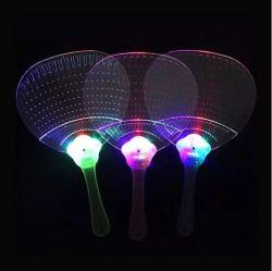Ventilatore all'ingrosso della mano istantaneo del rifornimento LED del partito