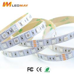 Striscia non impermeabile decorativa 14.4W/M della flessione LED dell'indicatore luminoso SMD5050 RGB