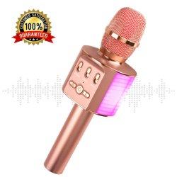 E202 беспроводных стерео микрофон караоке микрофон системы поддержки TF карты