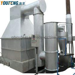 Smokeless rapide incinérateur de déchets solides avec l'approbation de l'ISO