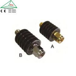 真鍮の金によってめっきされるSMAのコネクターDC26.5GHzの広い頻度幅RFの同軸減衰器を測定する力5ワットの3-50 dB
