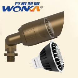4W/5W/6W tensão baixa MR16/LED GU10 Lâmpada do Refletor para iluminação de quintal