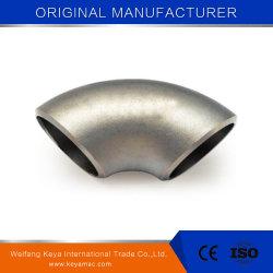 La norme ANSI B16.9 sans soudure en acier allié du raccord de tuyau coudé 90 degrés