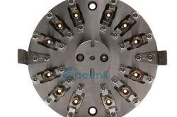 De Fibra óptica ST/PC Pulido Giga, Conector de fibra óptica personalizada montaje pulido utilizado en el centro de la máquina de pulido