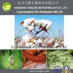 EC di Cypermethrin 4%+Profenofos 40%; Miscela di Cypermethrin 10%+Methomyl 24%EC-Insecticide