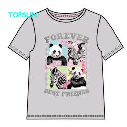 Les enfants Tee-shirts pour les enfants T Shirt de l'impression personnalisée de vêtements pour bébé fille coton vêtements à manches courtes