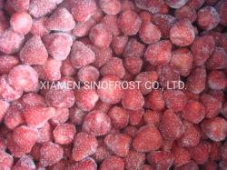 Muy buenos precios 15-25mm Calibarted todo IQF frutillas, Fresas enteros congelados, American Nº 13/miel dulce/Charlie variedad
