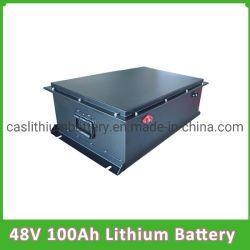 Batteria profonda del ciclo 48V 100ah LiFePO4 per il carrello di golf