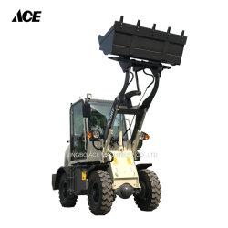 0,8 tonne Petits articulé l'extrémité avant du chariot hydraulique de chargeuse à roues