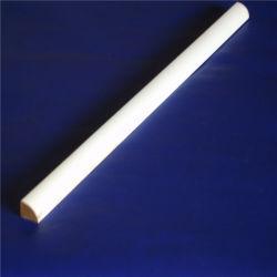 Apprêté blanc bois LVL de moulage par quart de tour