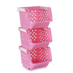Для установки в стойку для хранения на кухне, колесных пластиковые плетеной сетчатой корзины стеллажи тележки, Тележка для хранения на кухне с полками на колесах для выращивания овощей и фруктов